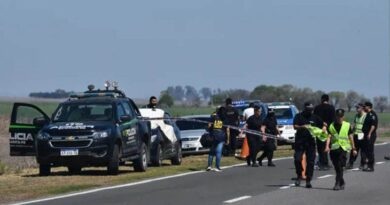 Brutal femicidio: un policía persiguió a su ex por la ruta y la mató de un tiro
